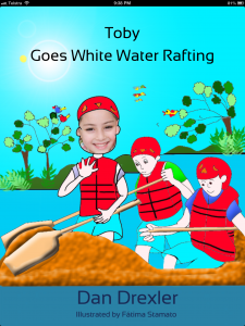 Toby Goes White Water Rafting