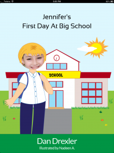 Jennifer's First Day At Big School