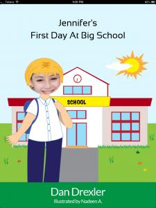 Jennifer's First Day At Big School